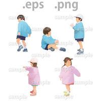 子供イラスト (EPS , PNG )   ch_011
