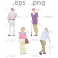 ファミリーイラスト (EPS , PNG )   fa_014