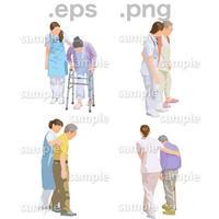 シニアイラスト (EPS , PNG )   se_233