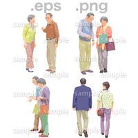 シニアイラスト (EPS , PNG )   se_114