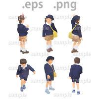 子供イラスト (EPS , PNG )   ch_009