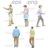シニアイラスト (EPS , PNG )   se_147
