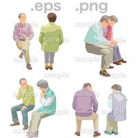 シニアイラスト (EPS , PNG )   se_159