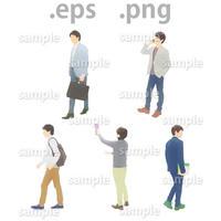 ビジネス人物イラスト (EPS , PNG )   bu_014