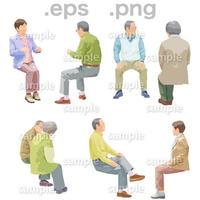 シニアイラスト (EPS , PNG )   se_160