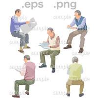 シニアイラスト (EPS , PNG )   se_193