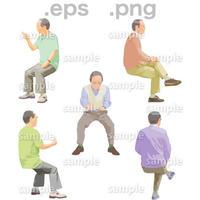 シニアイラスト (EPS , PNG )   se_192
