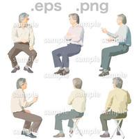 シニアイラスト (EPS , PNG )   se_057