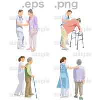 シニアイラスト (EPS , PNG )   se_232
