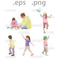 子供イラスト (EPS , PNG )   ch_007