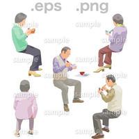 シニアイラスト (EPS , PNG )   se_184