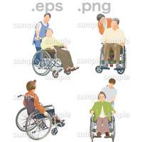 シニアイラスト (EPS , PNG )   se_090