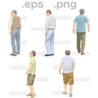 シニアイラスト (EPS , PNG )   se_152