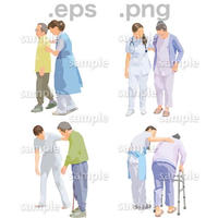 シニアイラスト (EPS , PNG )   se_231