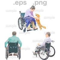 シニアイラスト (EPS , PNG )   se_223