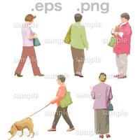 シニアイラスト (EPS , PNG )   se_068
