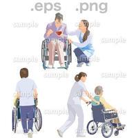 シニアイラスト (EPS , PNG )   se_212