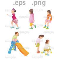 子供イラスト (EPS , PNG )   ch_006