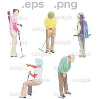 シニアイラスト (EPS , PNG )   se_155