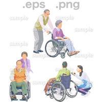 シニアイラスト (EPS , PNG )   se_207