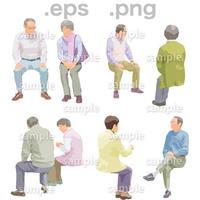 シニアイラスト (EPS , PNG )   se_161