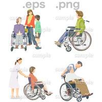 シニアイラスト (EPS , PNG )   se_084