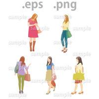 外国人イラスト (EPS , PNG )   gl_014