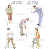 シニアイラスト (EPS , PNG )   se_241