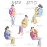 シニアイラスト (EPS , PNG )   se_186