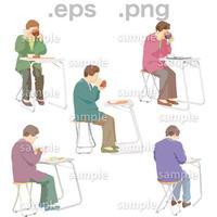 シニアイラスト (EPS , PNG )   se_065