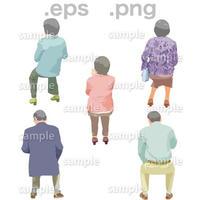シニアイラスト (EPS , PNG )   se_180