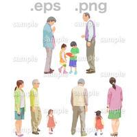 シニアイラスト (EPS , PNG )   se_102