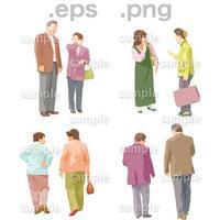 シニアイラスト (EPS , PNG )   se_022