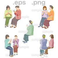 シニアイラスト (EPS , PNG )   se_035