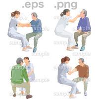 シニアイラスト (EPS , PNG )   se_249