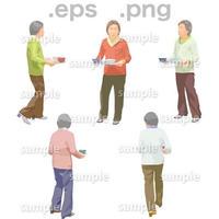 シニアイラスト (EPS , PNG )   se_139