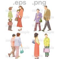 シニアイラスト (EPS , PNG )   se_027