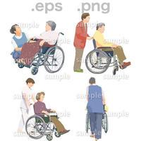 シニアイラスト (EPS , PNG )   se_091