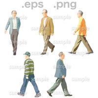 シニアイラスト (EPS , PNG )   se_047