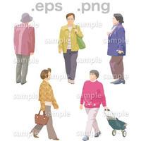 シニアイラスト (EPS , PNG )   se_063