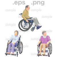 シニアイラスト (EPS , PNG )   se_229