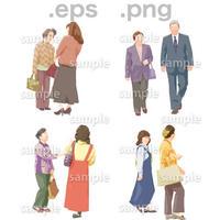 シニアイラスト (EPS , PNG )   se_028