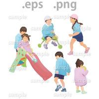 子供イラスト (EPS , PNG )   ch_012