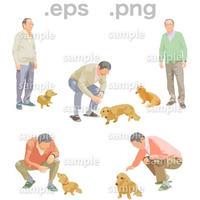 シニアイラスト (EPS , PNG )   se_195