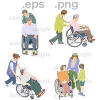 シニアイラスト (EPS , PNG )   se_087
