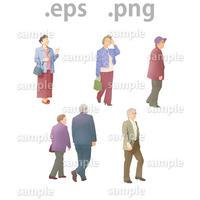 シニアイラスト (EPS , PNG )   se_010