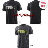 【サッカー/ウエア】umbro/アンブロ/URA.LOGO S/Sシャツ【UUUNJA63】