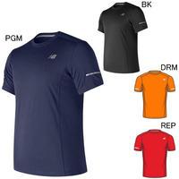 【ランニング/Tシャツ】new balance/ニューバランス/ランニングコアショートスリーブTシャツ【MT73916】