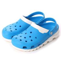 【crocs/サンダル】crocs/クロックス/デュエット マックス クロッグ(オーシャン/ホワイト) 【201398-49Y】