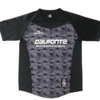 DALPONTE/ダウポンチ/ポリゴンプラクティスシャツ(ブラック)【DPZ0264-BLK】